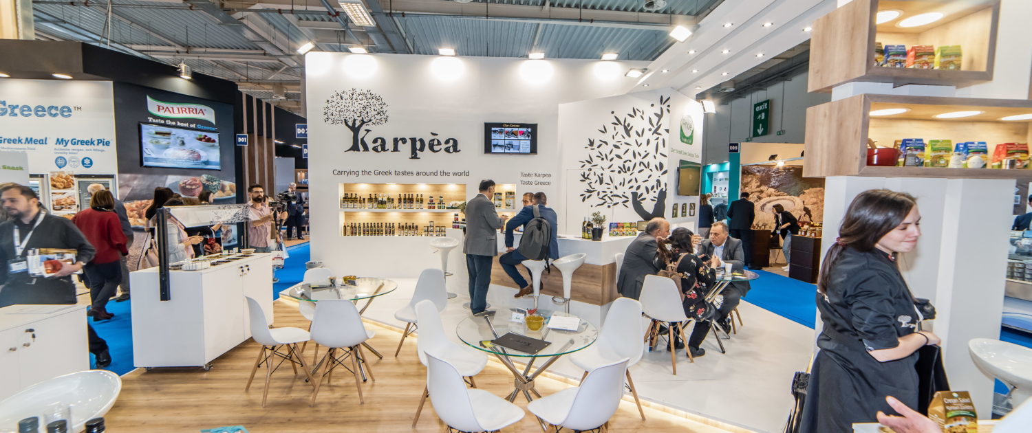 FOODEXPO 2019 Karpea Decodimal Trade Stands