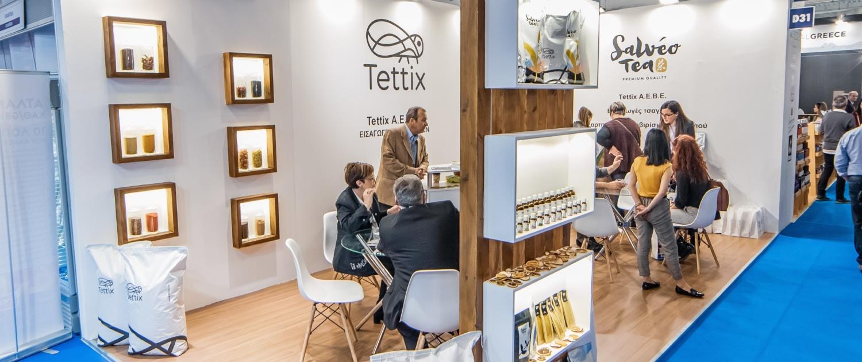 FOODEXPO 2019 Tettix Εκθεσιακά Περίπτερα