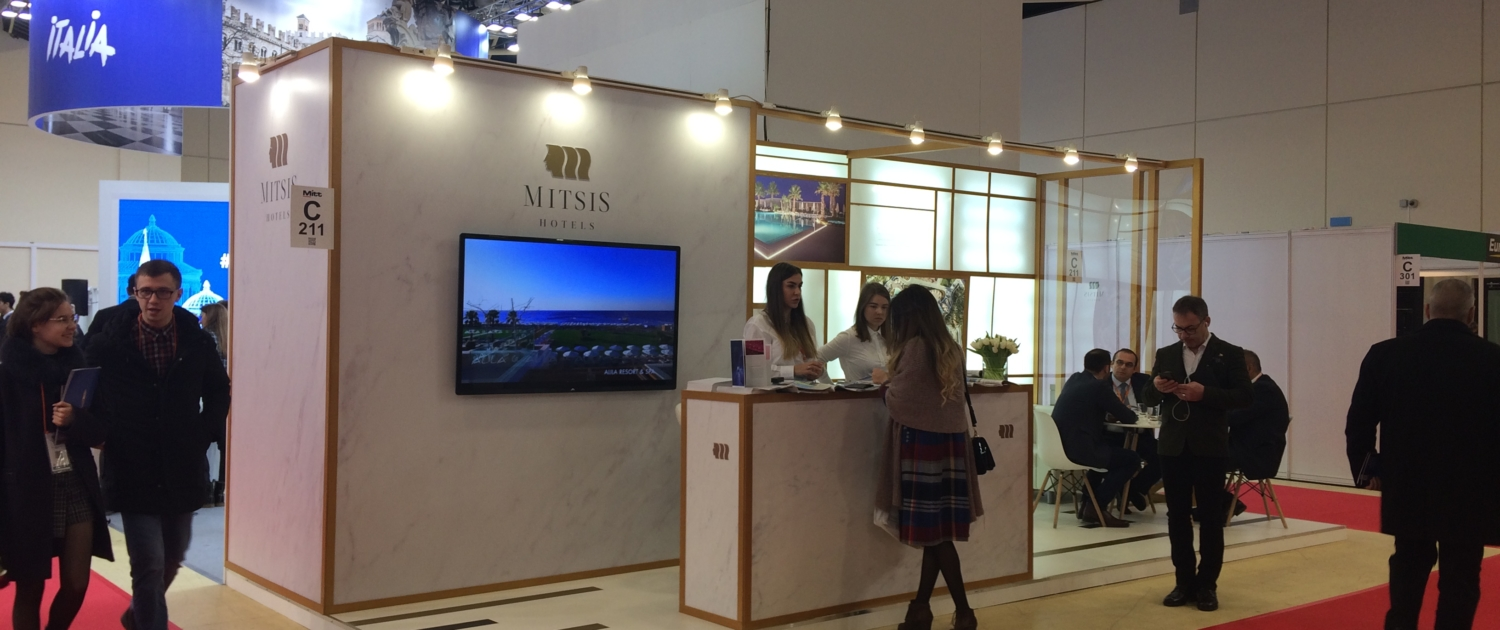 MITT MOSCOW 2019 Trade Stands Mitsis Hotels